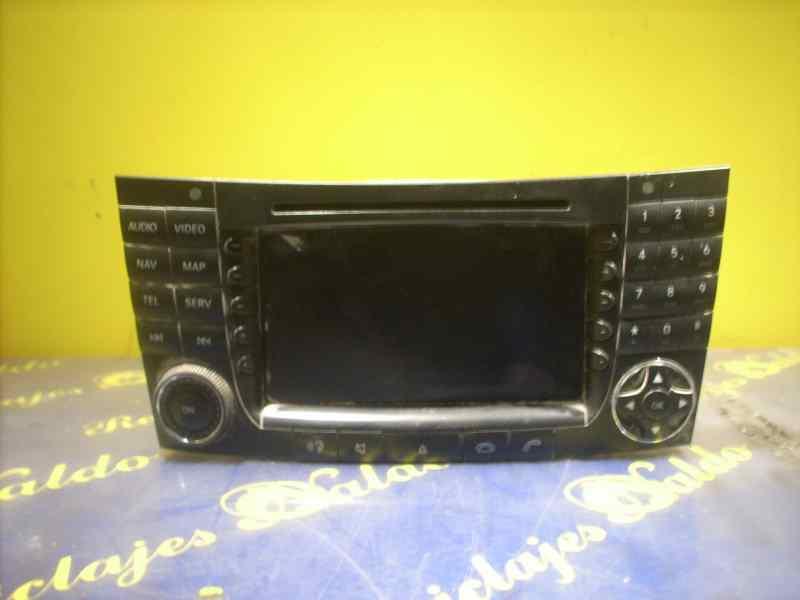 Sistema navegacion gps de Mercedes Clase e (w211) berlina (2002 - 2009) 2118700199001
