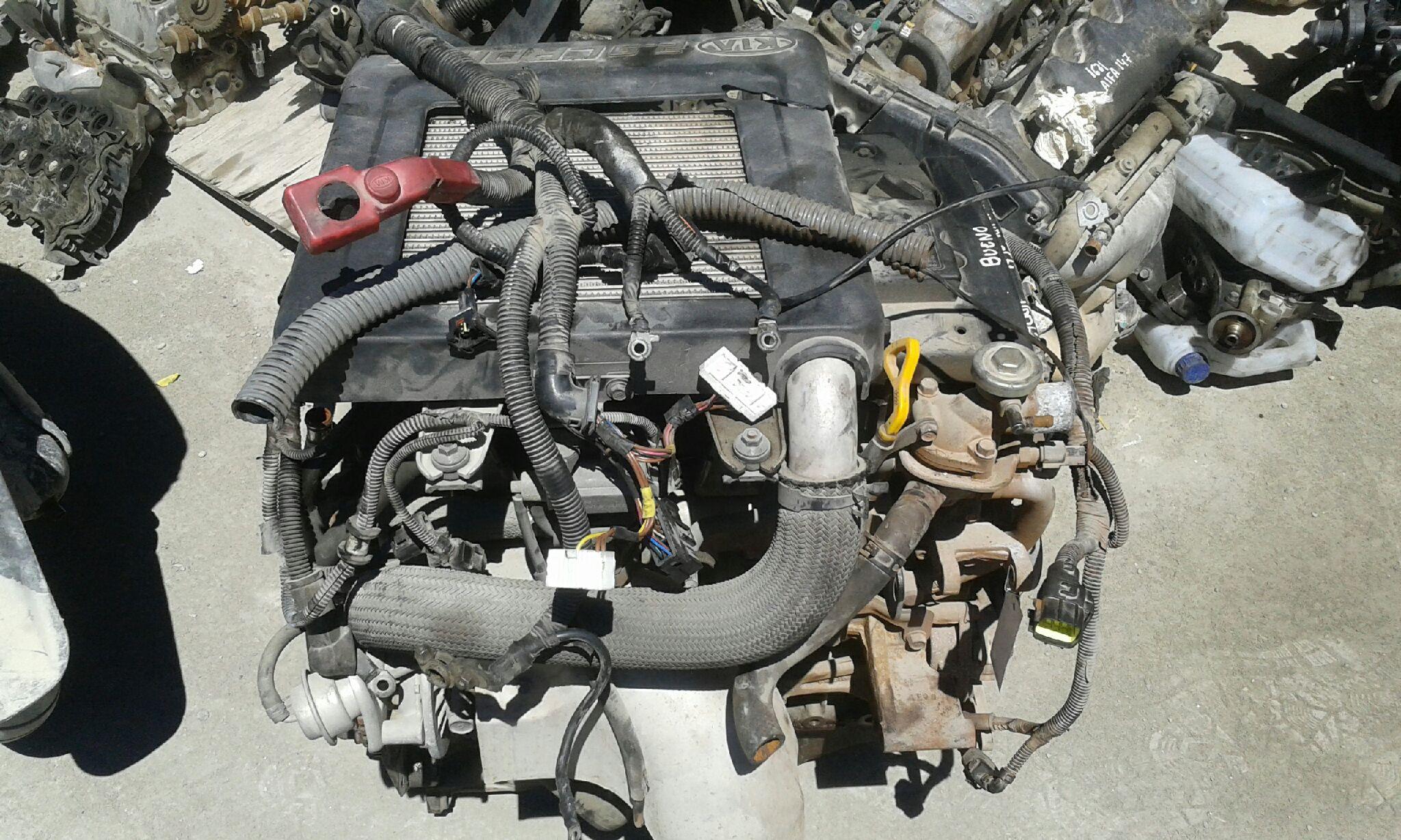 Motor completo de Kia Carnival ii (2001 - 2006) J3670603