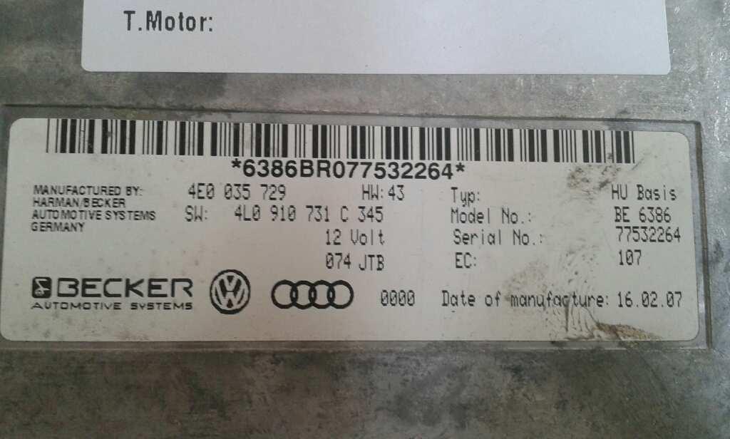 Modulo electronico de Audi A6 berlina (4f2) (2004 - 2008) 4L0910731C