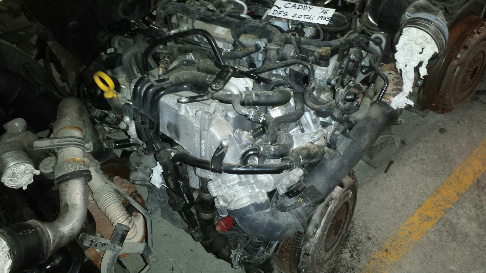 Motor completo de Volkswagen Caddy ka/kb (2c)(08.2010->) (2010 - ...) DFS