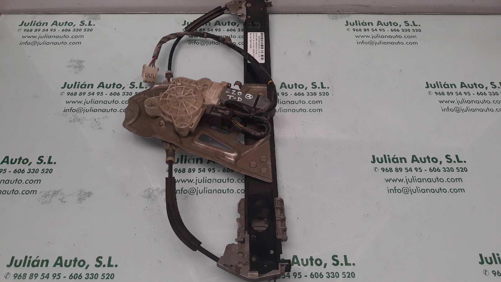 Elevalunas trasero derecho de Mercedes Clase s (w220) berlina (1998 - 2005) A2207302046