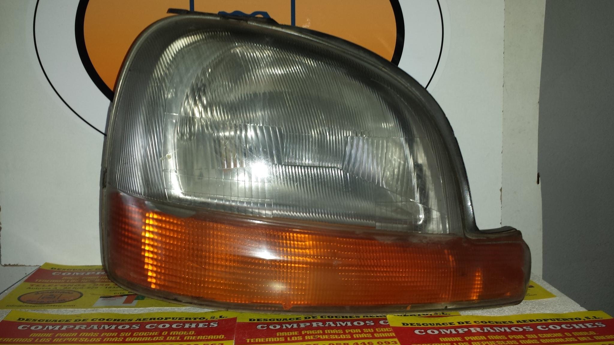 Faro izquierdo de Renault Kangoo (f/kc0) (1997 - 2005)