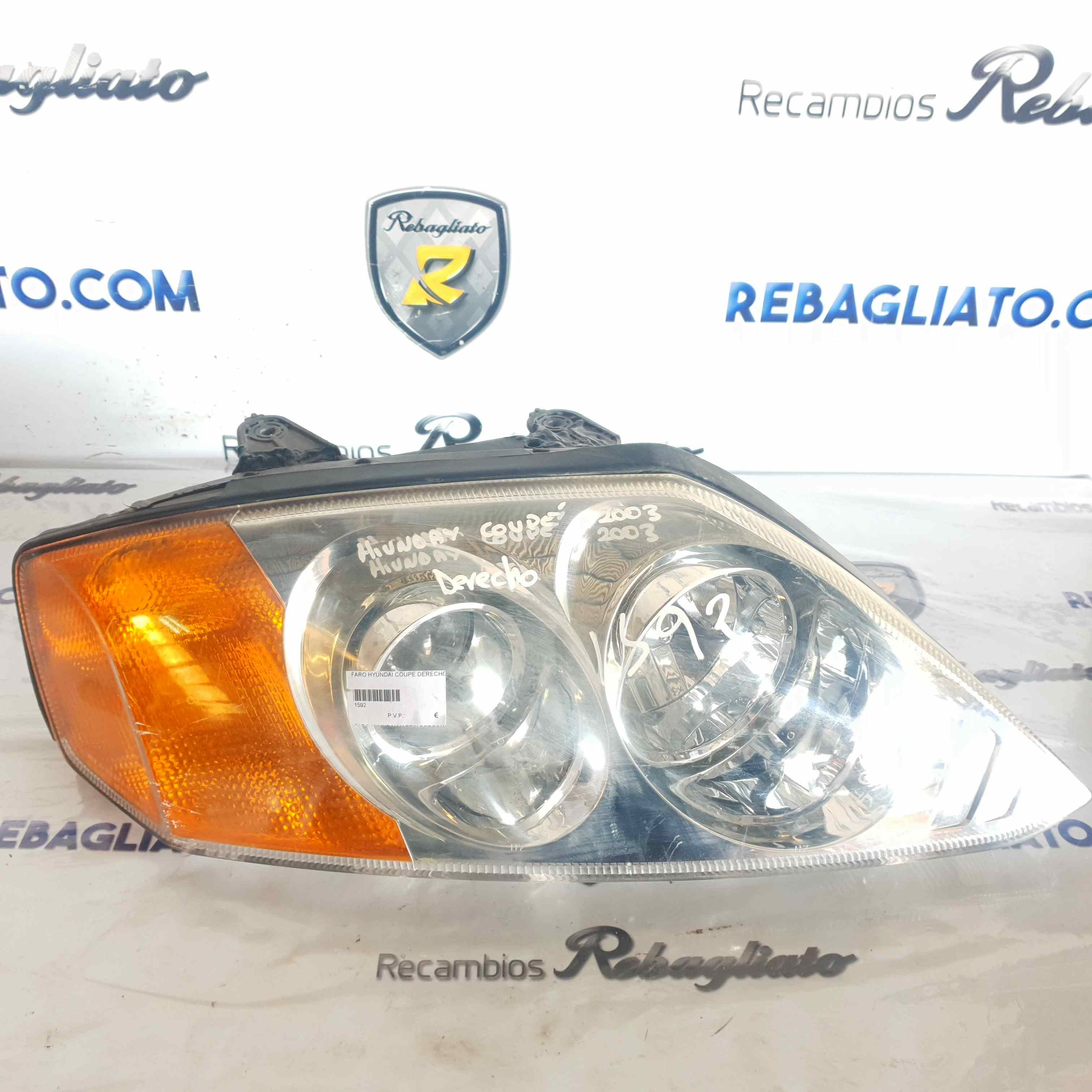 Faro derecho de Hyundai Coupe (gk) (2002 - 2010) 1592