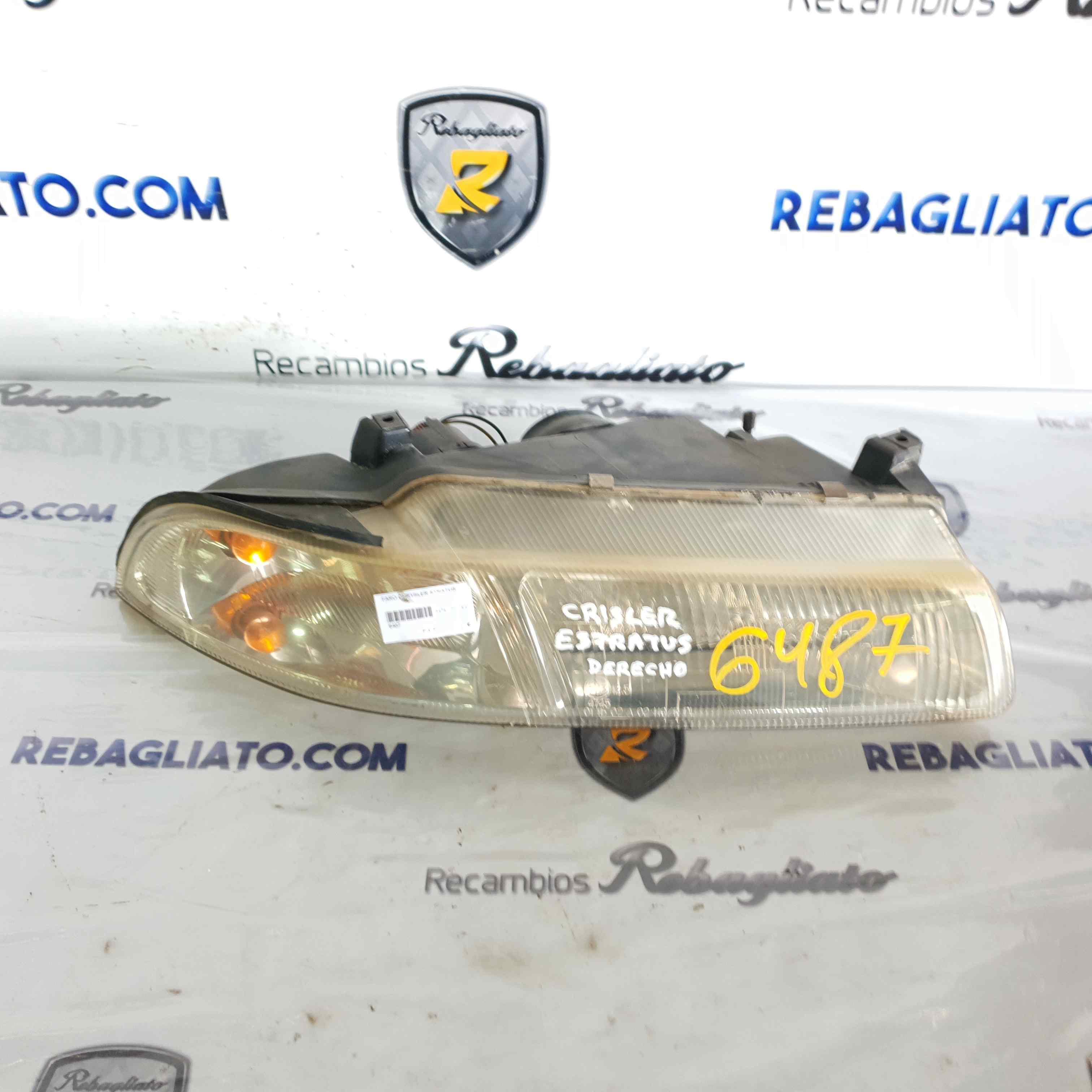 Faro derecho de Chrysler Stratus berlina (ja) (1994 - 2001) 6487