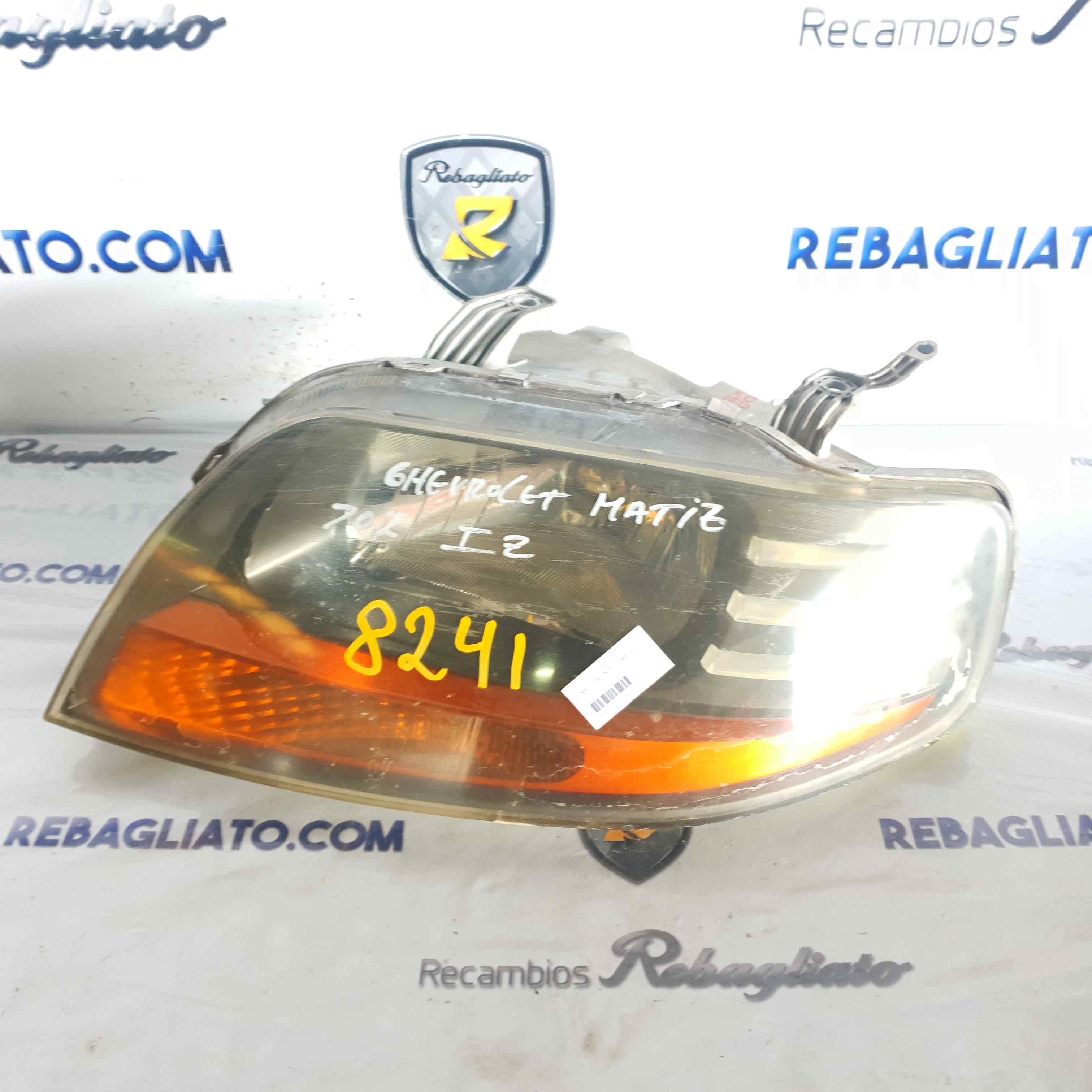 Faro izquierdo de Chevrolet Matiz (2005 - 2011) 8241